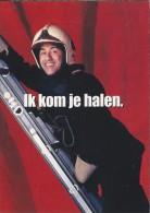 Boomerang Kaart - Brandweer. Brandweercollega's. Ik Kom Je Halen. - Humor