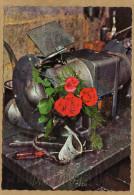 Vive Saint Eloi Machine Fleur Roses - Feiern & Feste