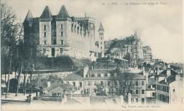 Pau. Le Château, Vue Prise Du Parc - Pau