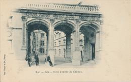 Pau. Porte D'entrée Du Château - Pau