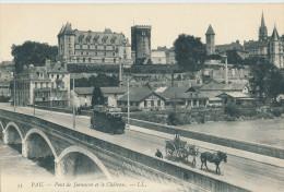 Pau., Pont De Jurançon Et Le Château - Pau