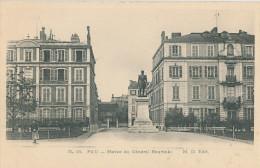 Pau. Statue Du Général Bourbaki - Pau