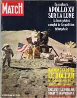 PARIS MATCH Apollo Xv Sur La Lune - Livres, BD, Revues