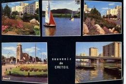 Souvenir De Créteil Multivues - Divers Aspects De La Ville (ed Franck) - Creteil