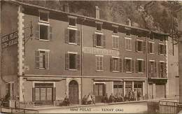 - Ain - Ref A106 -  Tenay - Hotel Pelaz - Hotel De La Gare - Theme Hotels  - Carte Bon Etat - - Otros Municipios