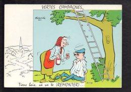 Illustrateur Dessin (A) Alexandre ? - Série : Vertes Campagnes / Tien Bois,ça Va Te Remonter ...... - Alexandre