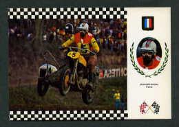 *Triumph, Inglesa 195 Kg.* Ed. Escudo De Oro. Serie *Side Cross I* Nº 1. Nueva. - Postales