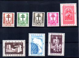Antituberculeux, Croix De Lorraine, 900 / 907**,  Cote 46 € - Belgique