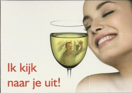 Boomerang Kaart - Vins De Pays De France. Ik Kijk Naar Je Uit. - Humor