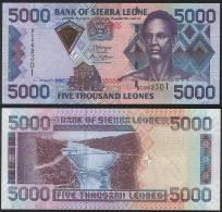 Sierra Leone P 27 C - 5000 5.000 Leones 4.8.2006 - UNC - Sierra Leone