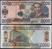 Sierra Leone P 26 C - 2000 2.000 Leones 4.8.2006 - UNC - Sierra Leone