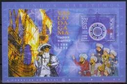 Macau MiNr. Bl. 54 I **, 500. Jahrestag Der Entdeckung Des Seeweges, Indien - 1999-... Sonderverwaltungszone Der China