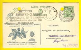 FABRIQUE BONNETERIE BAUWENS-CLEMENT Ch Hombeek MECHELEN - Pub AGRICULTURE HORTICULTURE Briefkaart Galacor Loppem 2044 - Mechelen