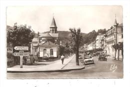 La Bourboule-Le Boulevard Georges-Clemenceau-voitures Peugeot 403-et 203--( A.6458 ) - La Bourboule