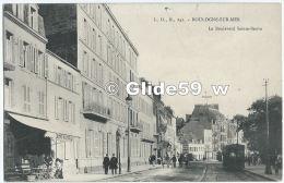 BOULOGNE-SUR-MER - Le Boulevard Sainte-Beuve (animée) - N° 242 - Boulogne Sur Mer