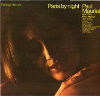 * LP *  PAUL MAURIAT - PARIS BY NIGHT - Instrumentaal