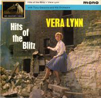 * LP *  VERA LYNN - HITS OF THE BLITZ (England 19 62 Mono EX-!!!) - Vinylplaten