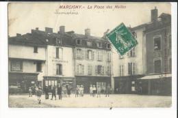 71 MARCIGNY LA PLACE DES HALLES BELLE ANIMATION - France