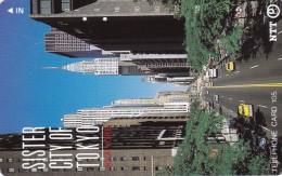 "Japan, 231-067  B, New York ""Sister City Of Tokyo"", 2 Scans. - Japan"