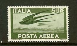 ITALIA 1945 MNH Stamp(s) Airmail 5 Lira 709 - 5. 1944-46 Lieutenance & Umberto II