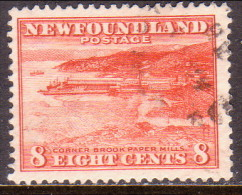 NEWFOUNDLAND 1932 SG #227 8c Used Perf. 13½ - Newfoundland