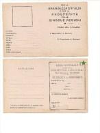 $3-4361 TESSERA LEGA NAZIONALE CONTRO IL BOLSCEVISMO PALERMO NUOVA - Organizzazioni