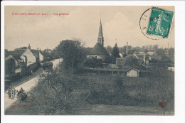 Carte De  FONTAINE - SIMON    ( Recto Verso ) - Autres Communes