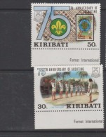 O) 1982 KIRIBATI - AUSTRALIA, SCOUTS 1907, SET MNH-4 - Kiribati (1979-...)