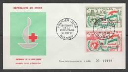 ENVELOPPE 1ER JOUR DU NIGER - CENTENAIRE DE LA CROIX-ROUGE INTERNATIONALE - Croix-Rouge