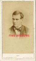 CDV Vers 1870 Photographe Ch. Reutlinger- MONROZE, Acteur Français- - Old (before 1900)