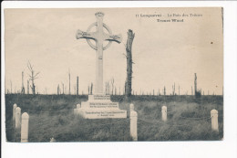Carte De LONGUEVAL Le Bois Des Trônes ( Monument Aux Morts Ou Calvaire à Voir )  ( Recto Verso ) - France