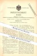 Original Patent - Josef Sulc In Prag-Karolinenthal , 1893 , Zündholz-Etui , Zündhölzer , Streichhölzer , Feuer !!! - Zündholzschachteln