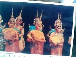 CAMBOGIA  CAMBODIA  ROYAL  DANCE  VENTAGLIO   N1990 EU17653 - Cambogia