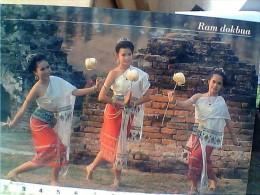THAILANDIA DANCE RAM DOKBUA  N1990 EU17656 - Tailandia