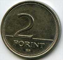 Hongrie Hungary 2 Forint 2001 KM 693 - Hongrie
