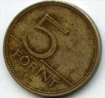 Hongrie Hungary 5 Forint 2000 KM 694 - Hongrie