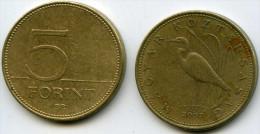Hongrie Hungary 5 Forint 2007 KM 694 - Hongrie