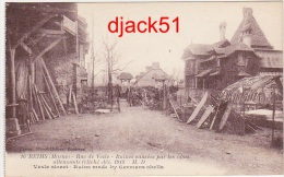 Guerre 1914 - 1918 / REIMS (Marne) - Rue De Vesle - Ruines Causés Par Les Obus Allemands (cliché Déc.1918) - Guerre 1914-18