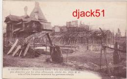 Guerre 1914 - 1918 / REIMS (Marne) - Faubourg Cérès - Une Des Rares Habitations Peu Démolies ...(cliché Déc.1918) - Guerre 1914-18