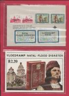 SOUTH AFRICA, 1987, MNH, Booklet  2,  Natal Flood Disaster, Nr. 642, F3790 - Boekjes