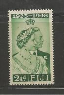 FIJI, 1948, Mint Never Hinged Stamps, Silver Wedding 1 Value Only SG270, #2106 - Fiji (1970-...)