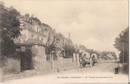 DE TOURS A VOUVRAY ROUTE DE ROCHECORBON  CPA NO 15 - France