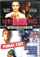 Very Bad Things Et Final Cut °°° 2 Film En DVD - Policiers