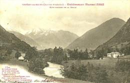 Cadéac Les Bains. Etablissement Thermal Fisse Sur La Rive Gauche De La Neste. - Autres Communes