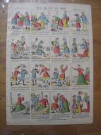 Imagerie PONT A MOUSSON Image D'Epinal N°152 Aux Bains De Mer - Collections