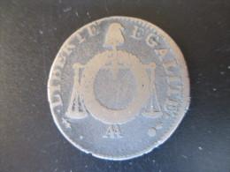 """LA CONVENTION 1 Sol Dit """"à La Table De Loi"""", L'AN II Non Datée AA, B+ - 1789-1795 Monnaies Constitutionnelles"""