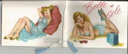 CALENDARIETTO DA BARBIERE -BELLE AL SOLE -ANNO 1962 - Calendari