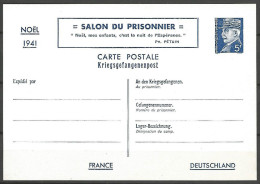 ENTIER SALON DU PRISONNIER  N� 515 CP ETAT 1 NEUF SANS CHARNIERE / 2 SCANS