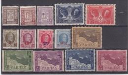 Nr 240/244, 245/248, 249/253 **, Cote = 37 € (X22338) - Belgique