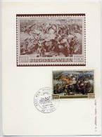 YUGOSLAVIA 1973 Peasant Rising 2d  On Maximum Card.  Michel 1495 - Maximum Cards